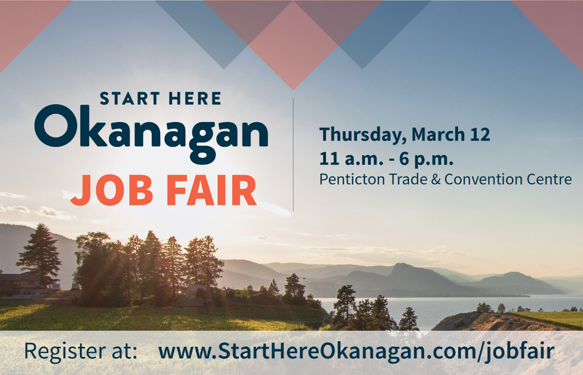 Start Here Job Fair Penticton Trade and Convention Centre