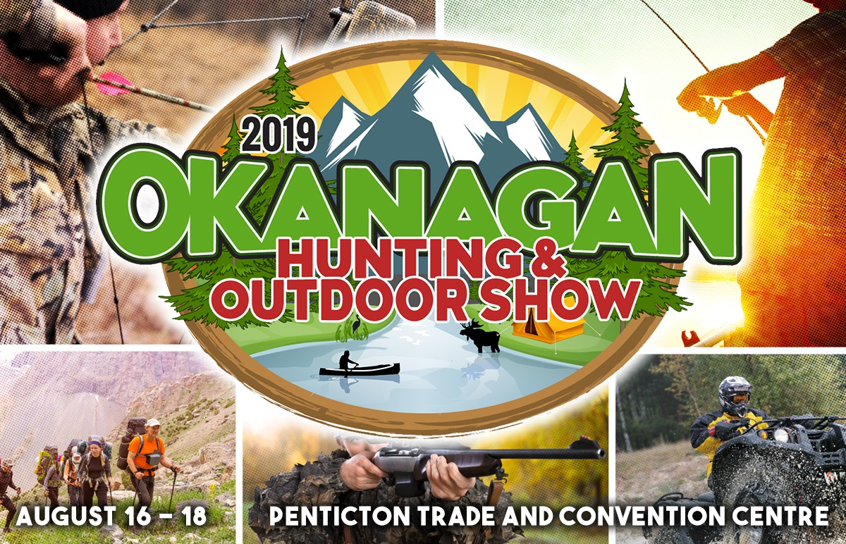 Okanagan Hunting and Fishing Show Graphic 2019